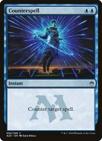 Counterspell, Magic: The Gathering, Masters 25