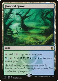 Flooded Grove, Magic: The Gathering, Masters 25