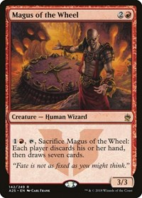 Magus of the Wheel, Magic: The Gathering, Masters 25