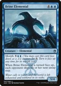 Brine Elemental, Magic: The Gathering, Masters 25