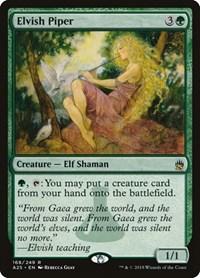 Elvish Piper, Magic: The Gathering, Masters 25
