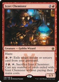Izzet Chemister, Magic: The Gathering, Masters 25