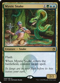 Mystic Snake, Magic, Masters 25