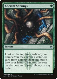 Ancient Stirrings, Magic: The Gathering, Masters 25