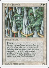 Wall of Swords, Magic: The Gathering, Revised Edition
