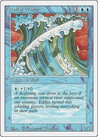 Wall of Water, Magic: The Gathering, Revised Edition