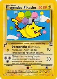 Pikachu (Flying), Pokemon, Pikachu World Collection Promos