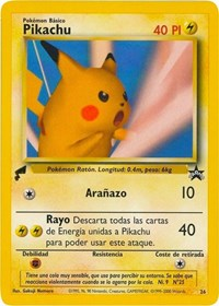 Pikachu (Snap), Pokemon, Pikachu World Collection Promos