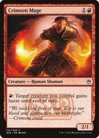 Crimson Mage, Magic: The Gathering, Masters 25