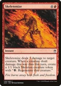 Skeletonize, Magic: The Gathering, Masters 25