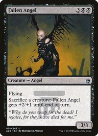 Fallen Angel, Magic, Masters 25