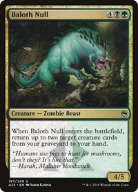 Baloth Null, Magic: The Gathering, Masters 25