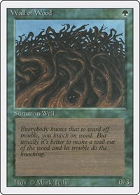 Wall of Wood, Magic: The Gathering, Revised Edition