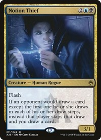 Notion Thief, Magic: The Gathering, Masters 25