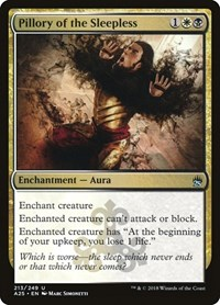 Pillory of the Sleepless, Magic: The Gathering, Masters 25