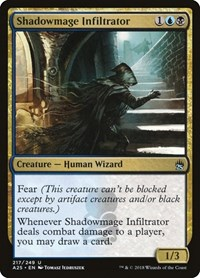 Shadowmage Infiltrator, Magic: The Gathering, Masters 25