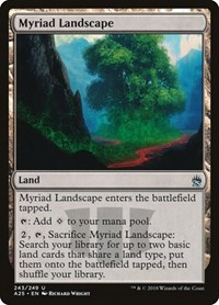 Myriad Landscape, Magic: The Gathering, Masters 25