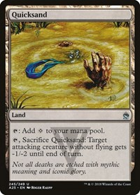 Quicksand, Magic: The Gathering, Masters 25