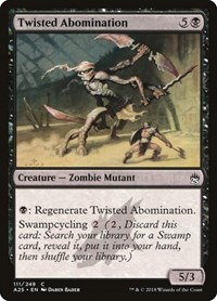 Twisted Abomination, Magic: The Gathering, Masters 25