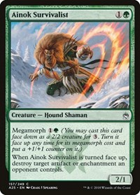 Ainok Survivalist, Magic: The Gathering, Masters 25
