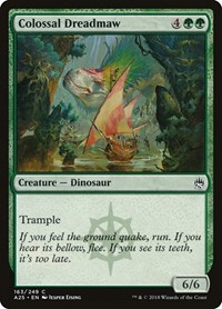 Colossal Dreadmaw, Magic: The Gathering, Masters 25