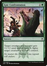 Epic Confrontation, Magic: The Gathering, Masters 25