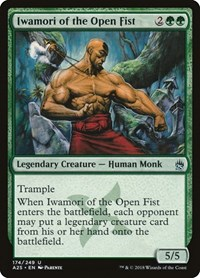 Iwamori of the Open Fist, Magic: The Gathering, Masters 25