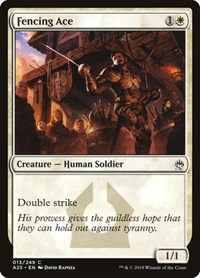 Fencing Ace, Magic, Masters 25