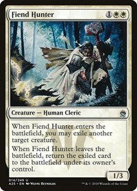 Fiend Hunter, Magic: The Gathering, Masters 25