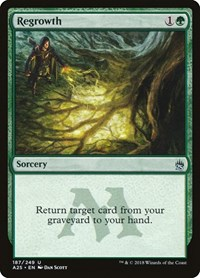 Regrowth, Magic: The Gathering, Masters 25