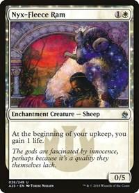 Nyx-Fleece Ram, Magic: The Gathering, Masters 25
