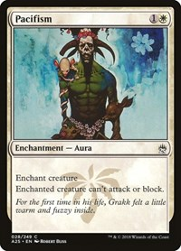 Pacifism, Magic, Masters 25