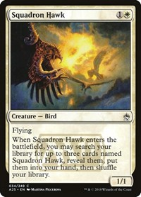 Squadron Hawk, Magic: The Gathering, Masters 25