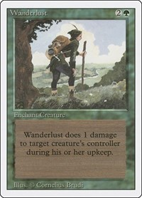 Wanderlust, Magic: The Gathering, Revised Edition