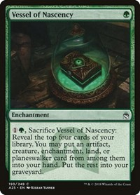 Vessel of Nascency, Magic: The Gathering, Masters 25