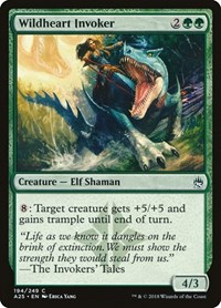 Wildheart Invoker, Magic: The Gathering, Masters 25
