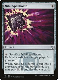Nihil Spellbomb, Magic: The Gathering, Masters 25