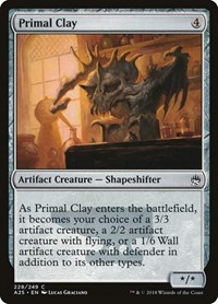 Primal Clay, Magic: The Gathering, Masters 25