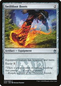 Swiftfoot Boots, Magic: The Gathering, Masters 25