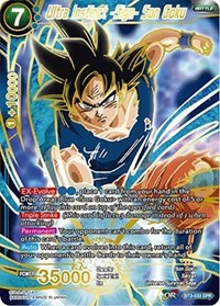 Ultra Instinct -Sign- Son Goku (SPR)