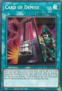 Card of Demise, YuGiOh, Legendary Collection Kaiba