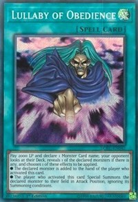 Lullaby of Obedience, YuGiOh, Legendary Collection Kaiba
