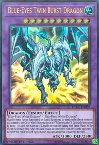 Blue-Eyes Twin Burst Dragon, YuGiOh, Legendary Collection Kaiba