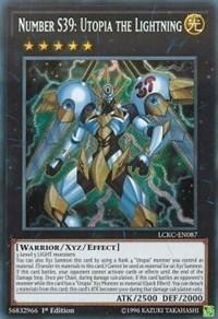 Number S39: Utopia the Lightning, YuGiOh, Legendary Collection Kaiba