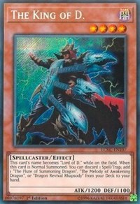 The King of D., YuGiOh, Legendary Collection Kaiba