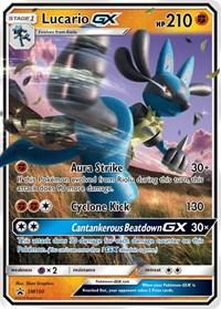 Lucario GX - SM100, Pokemon, SM Promos
