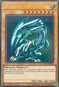 Blue-Eyes White Dragon (Version 2), YuGiOh, Legendary Collection Kaiba