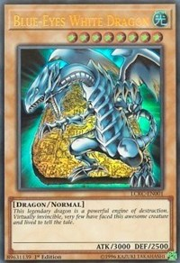Blue-Eyes White Dragon (Version 4), YuGiOh, Legendary Collection Kaiba