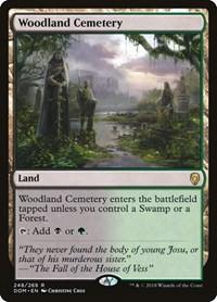 Woodland Cemetery, Magic, Dominaria