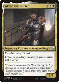 Arvad the Cursed, Magic: The Gathering, Dominaria